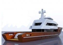 Exterior 3D Yacht Design