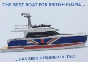 Azimut Magellano 43 ADV at Shouthampton Boat Show 2014