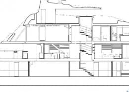 Yacht Architectural Drawing