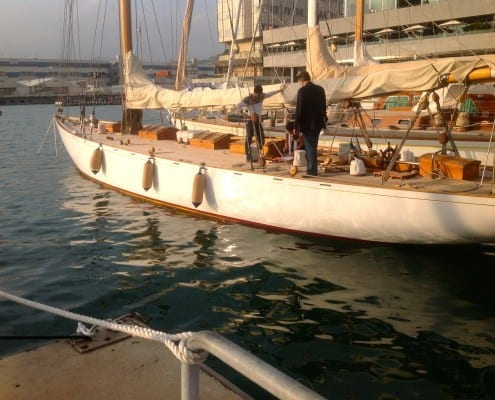 Classic Wooden Sail Yacht 2