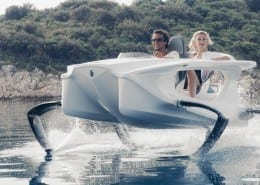 Quadrofoil- electric hydrofoil