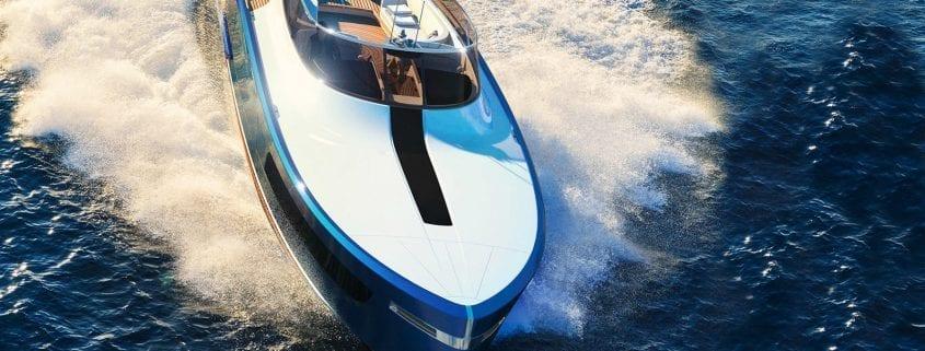 Aeroboat S6 concept - Rolls Royce + Claydon Reeves