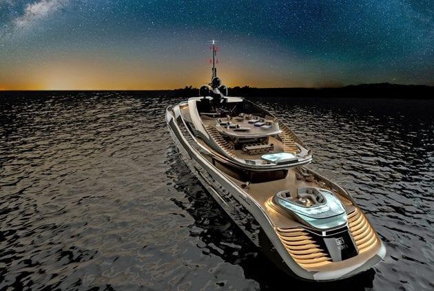 Rossinavi Pininfarina Aurea 70 meters yacht