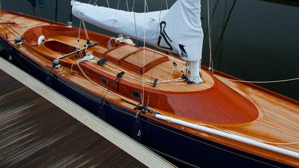 Spirit Yacht Wood Boat