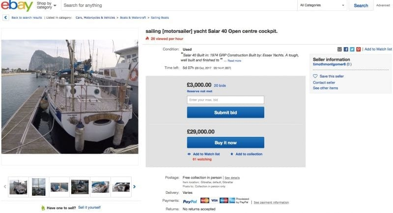 How To Find A Really Inexpensive Boat Deal On Auction On Ebay Rodriquez Consulting