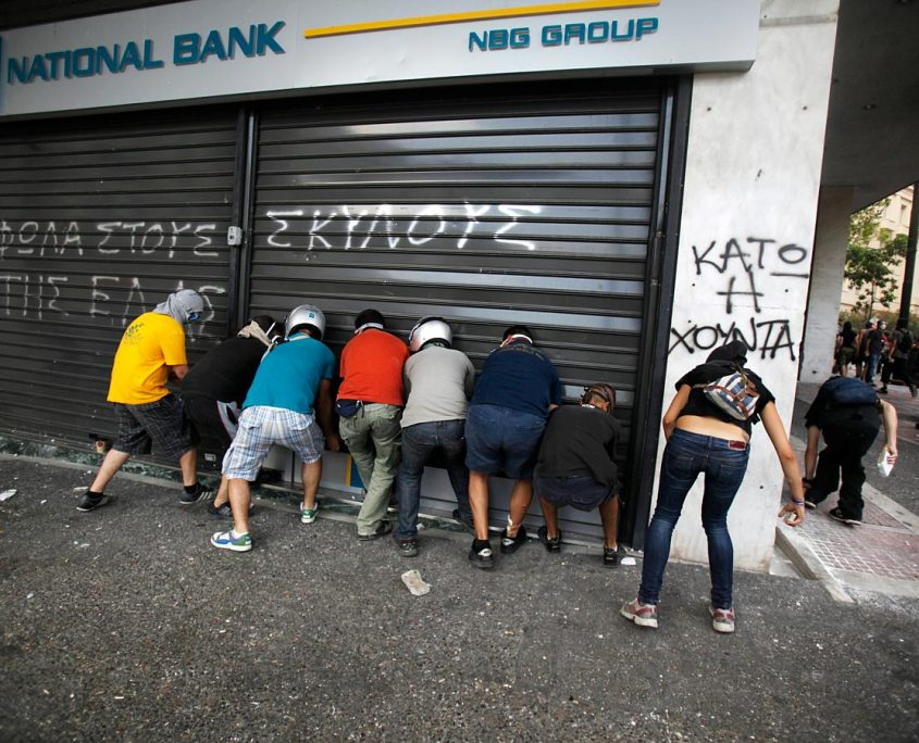 Banks Shut DOWN in Greece