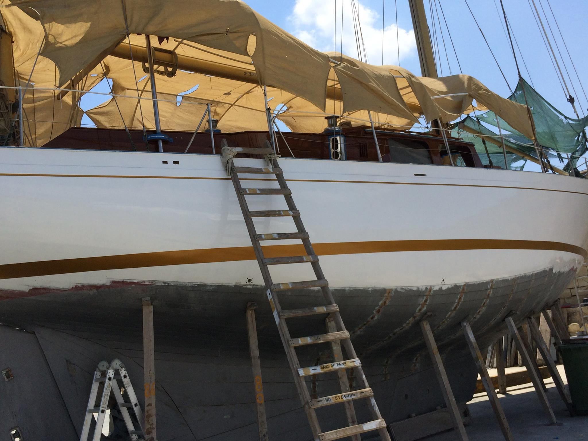 Classic Sailing yacht under £100k