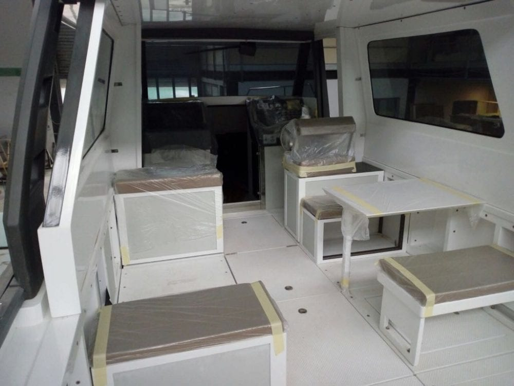 Ethos Ec 30 Hybrid Boat
