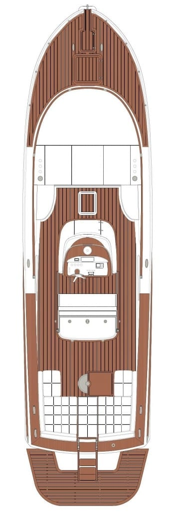 Morgan Yachts 33 Layout